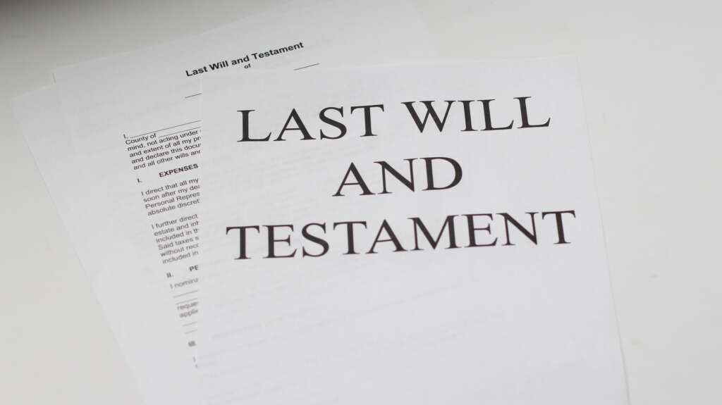 A will document